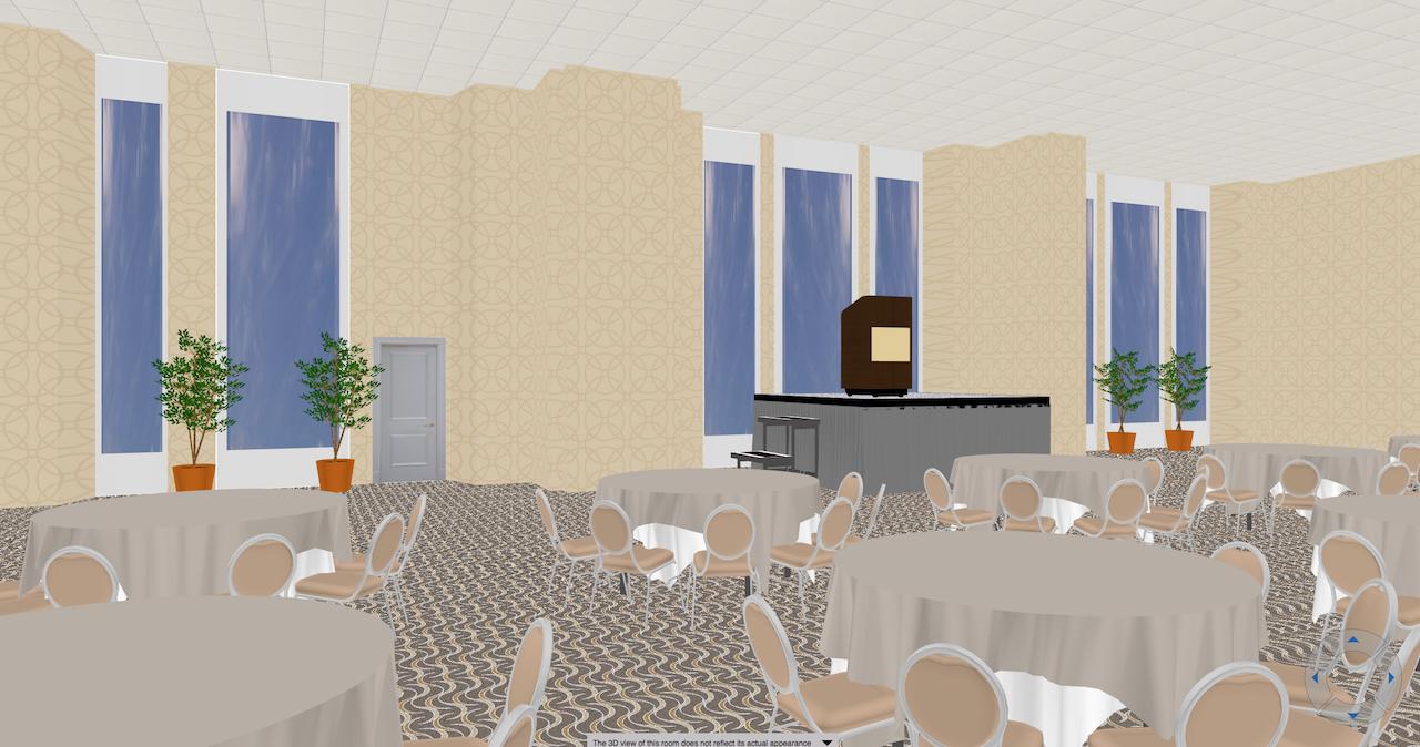 3D Room Diagramming