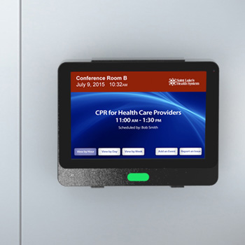Conference Room Digital Door Card