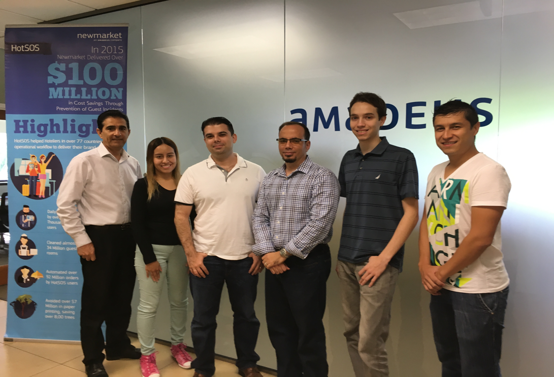 FIU Interns at Amadeus